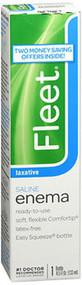 Fleet Saline Enema Laxative - 4.5 oz