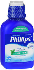 Phillips' Milk of Magnesia Fresh Mint - 26 oz