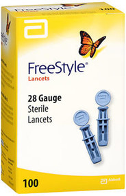 FreeStyle Sterile Lancets, 28 Gauge - 100 ct