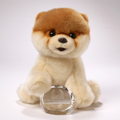 GUND is proud to present a plush version of Boo, the wildly popular Pomeranian internet sensation. Boo The World's Cutest Dog has been turning heads and wagging tails for years with his signature short haircut and bubbly outlook on life.  •Plush •9 in H  •Realistic plush replica of Boo features accurate, adorable details •Made from soft, huggable material that meets famous GUND quality standards •Surface-washable construction for easy cleaning •Suitable for ages 1+ •8 inch height (20 cm)