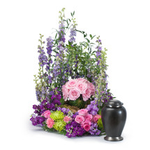 Forever Cherished Rose Urn