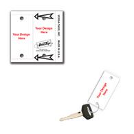 Custom Blank Key Tags