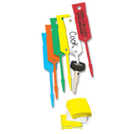 "Auto Arrow Key ID Tags - Size: 1-3/16"" x 5"""