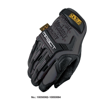 M-Pact Mechanics Gloves Black/Gray