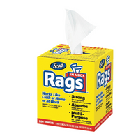 Scott Shop Rags in a Box