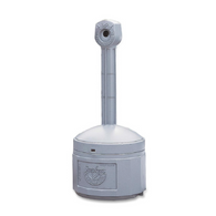 Cigarette Butt Receptacle - Pewter Gray