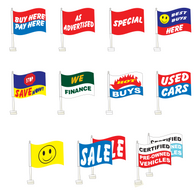 Premium Clip-On Flags