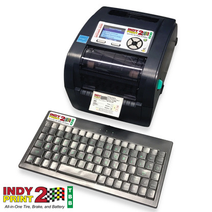 INDY Print 2 Kit - Tire, Brake, Battery, Mileage and Date