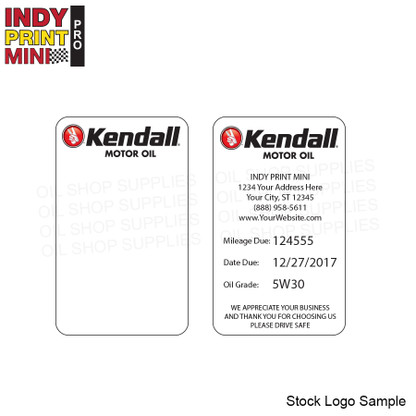 E6 - Kendall Motor Oil