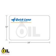INDY Print 2 Quick Lane Label