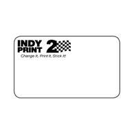 INDY Print 2 – Custom One Color Logo – Black