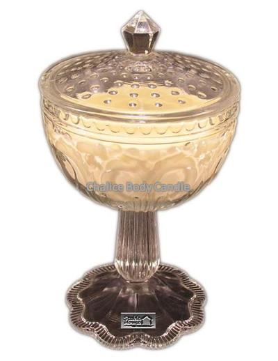 Amber Chalice Body Candle