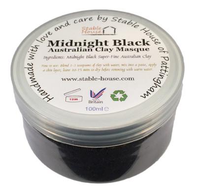 Midnight Black Clay Masque