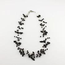 Black Onyx Gemstone Necklace