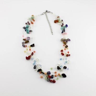 Multiple Gemstone Necklace