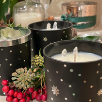 Snow & Ice Candle