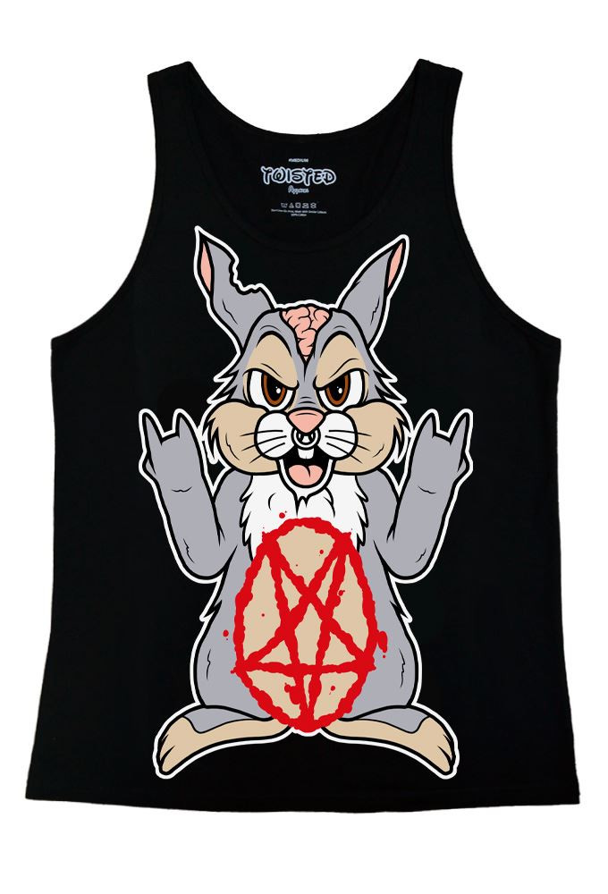 Twisted Bunny UNISEX Tank Top Vest