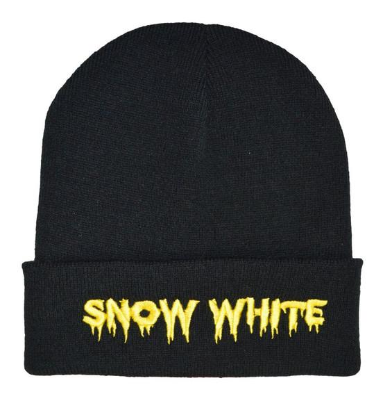 Alternative horror snow white beanie hat