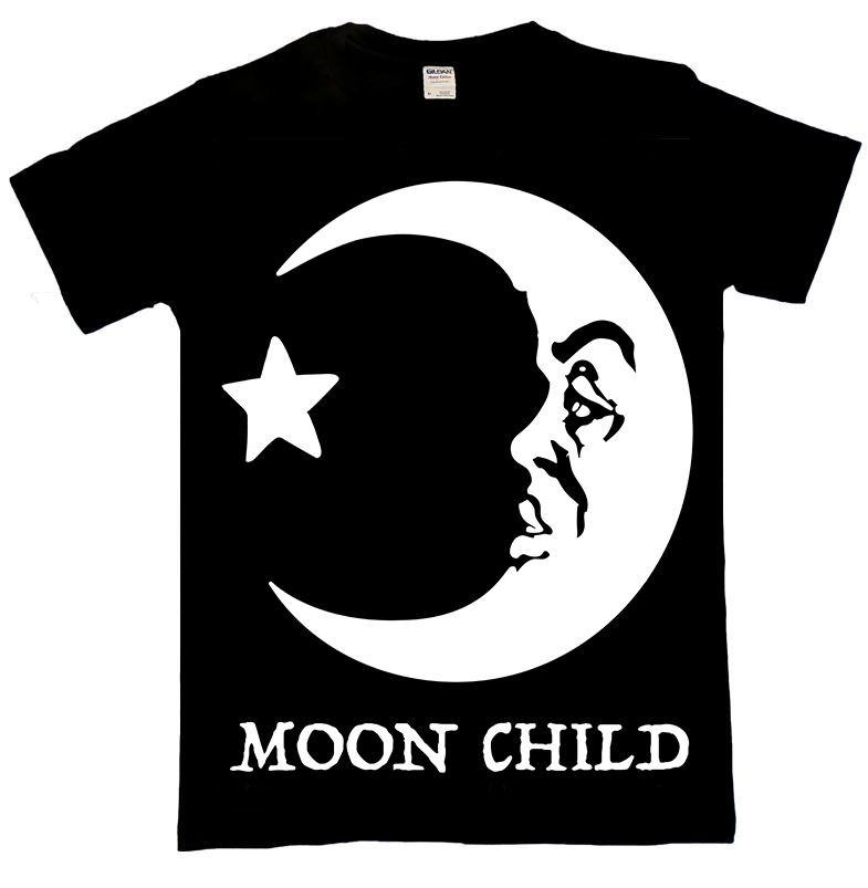 Moon Child Occult T Shirt