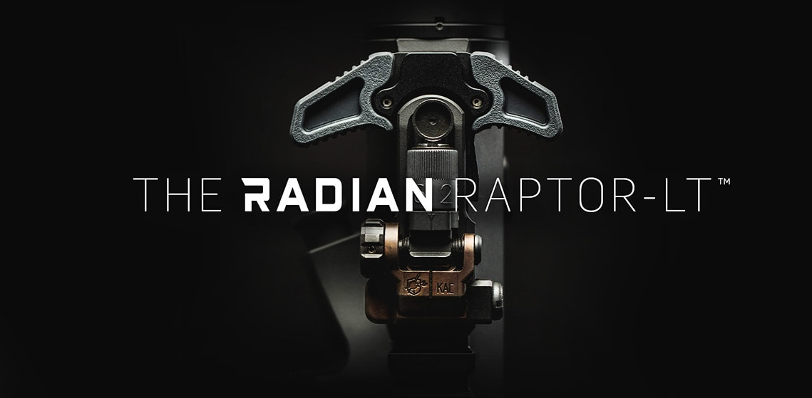 Radian Raptor-LT Ambi Charging Handle for AR-15