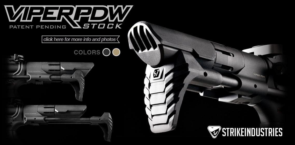 Strike Industries Viper PDW Stock