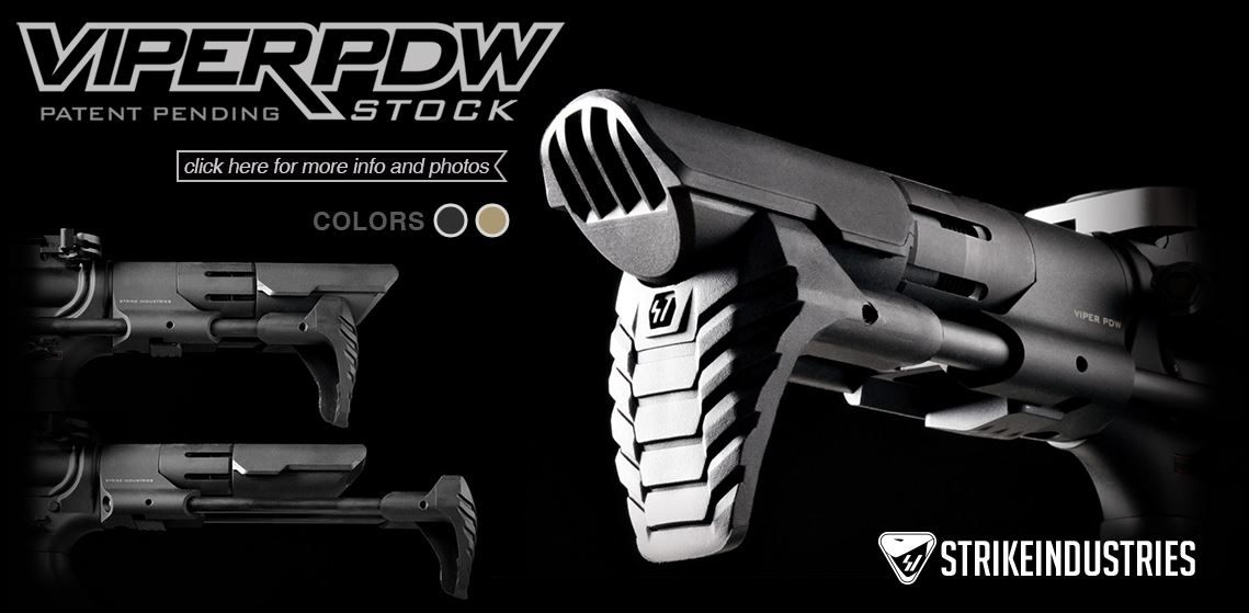 Strike Industries Viper PDW Stock