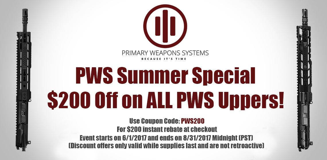 PWS Summer Special