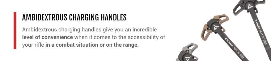 ambidextrous AR-15 charging handle