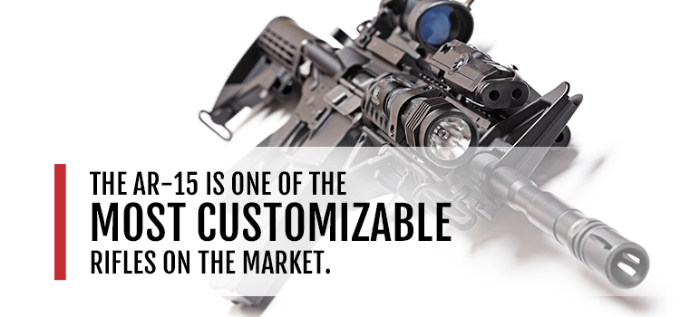 AR-15 one of the most customizable rifles