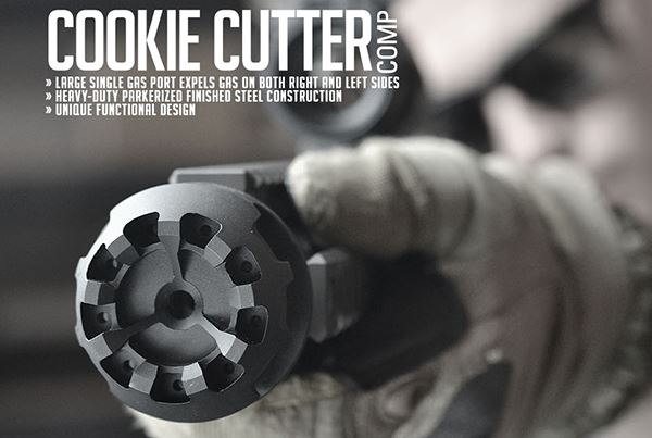 Strike Industries .308 Cookie Cutter Comp