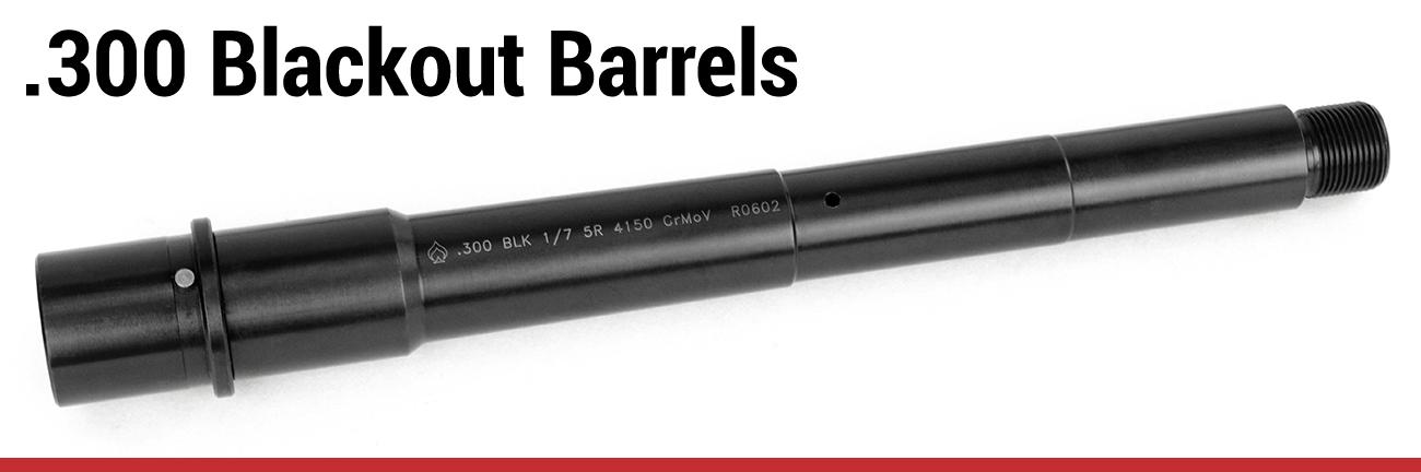 .300 Blackout Barrels
