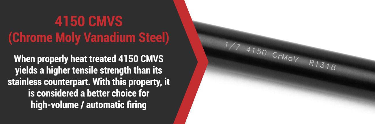 4150 CMV Steel Barrel