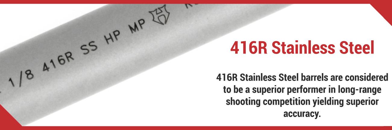 416R Stainless Steel Barrel