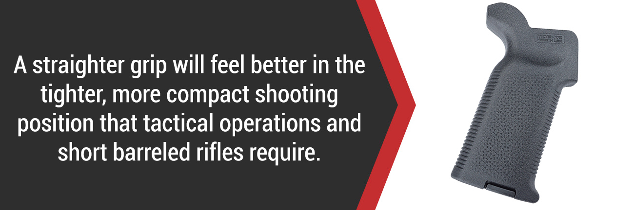 AR-15 Pistol Grip for CQB