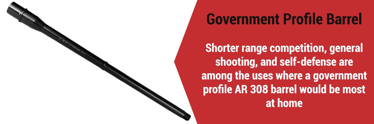 AR-10 Government Profile Barrel