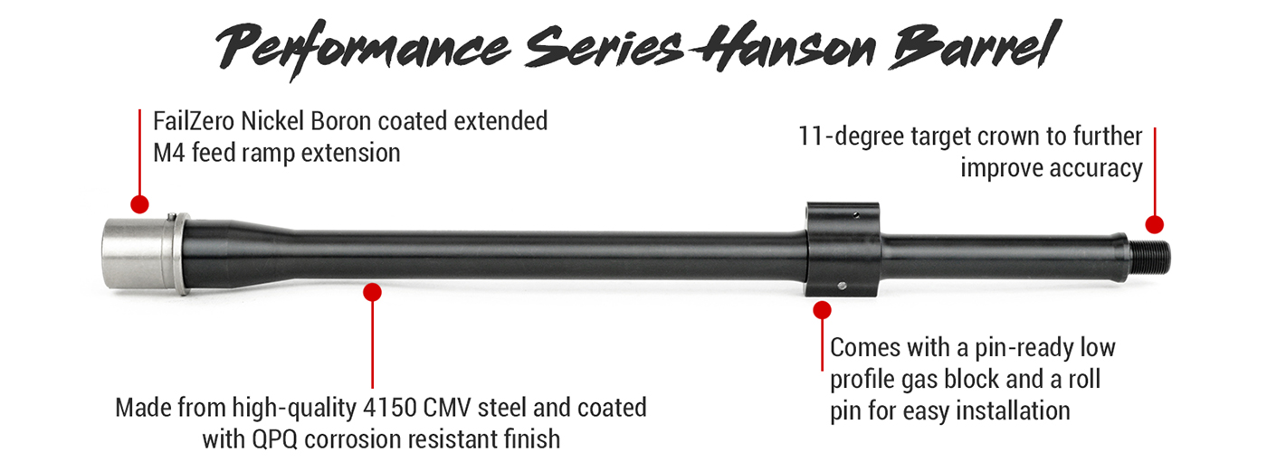 Ballistic Advantage Performance Series Hanson Barrel