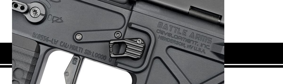 Battle Arms Development Enhanced Modular Magazine Release