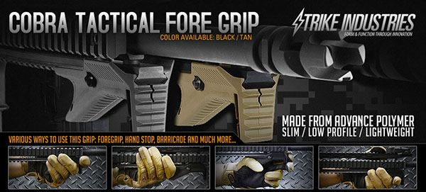 Strike Industries Cobra Tactical Foregrip