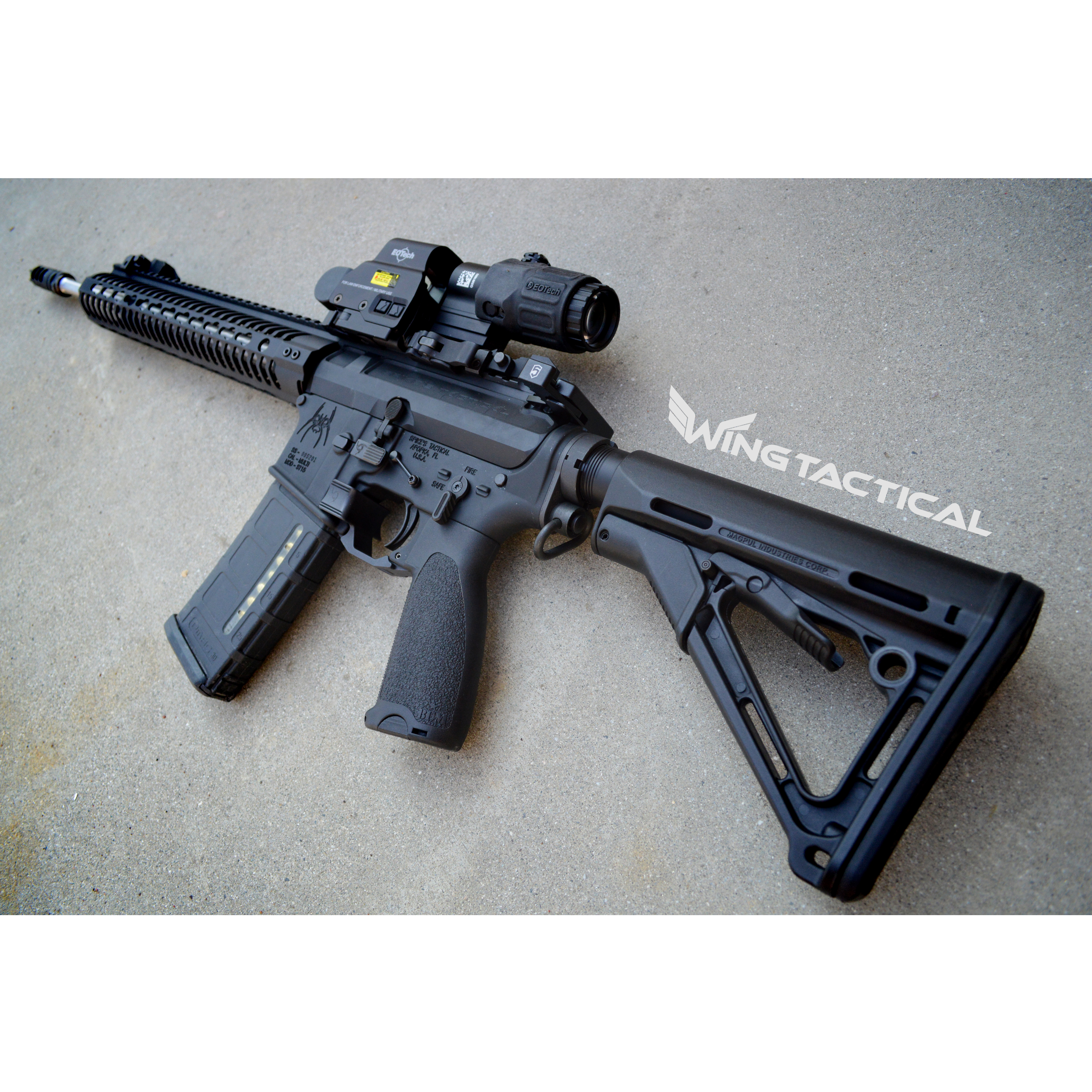Magpul CTR Stocks on AR-15