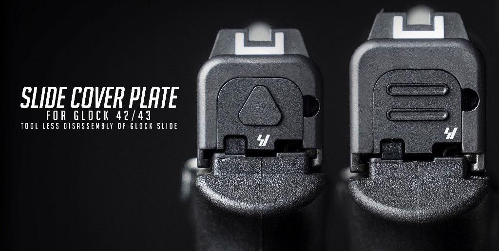Glock 43 slide cover plate