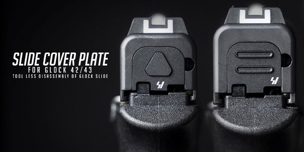 Glock 43 slide cover plate