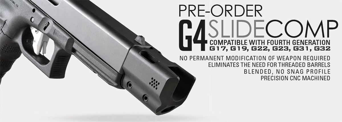 Strike Industries G4 SlideComp for Gen4 Glocks