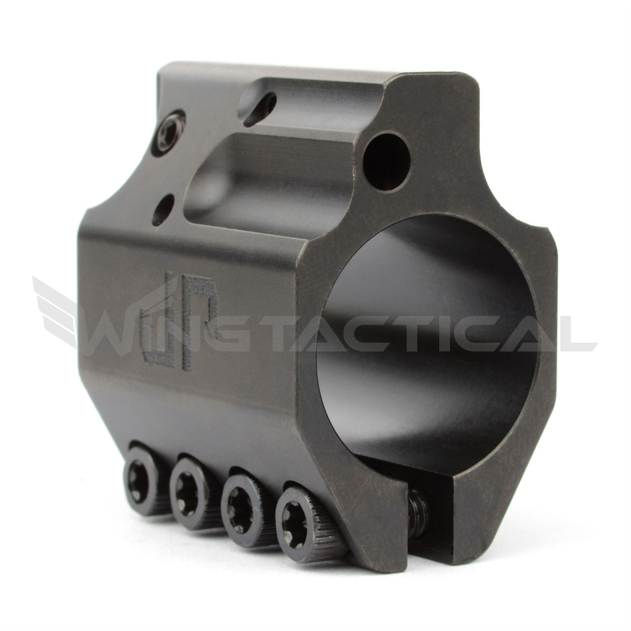 JP Enterprises .750 Adjustable Gas Block in QPQ Black Finish