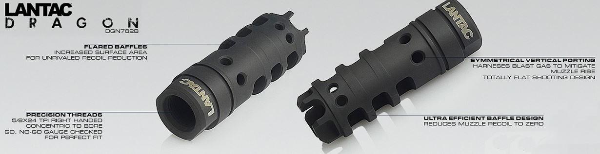 LANTAC Dragon Muzzle Brake 308