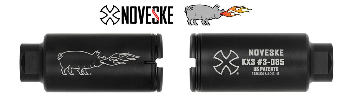 Noveske KX3 Flaming Pig Flash Suppressor