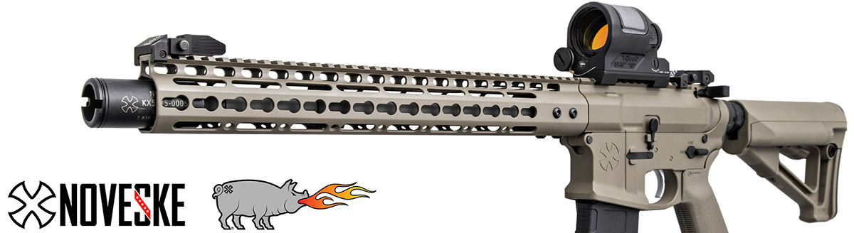 Noveske KX5 Flaming Pig Flash Suppressor
