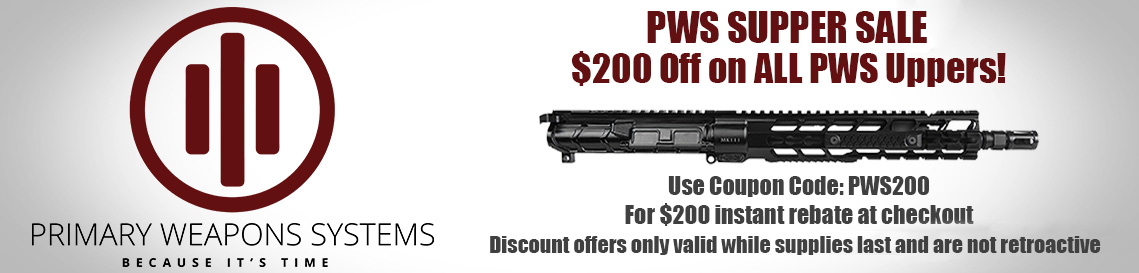 PWS Supper Sale $200 OFF