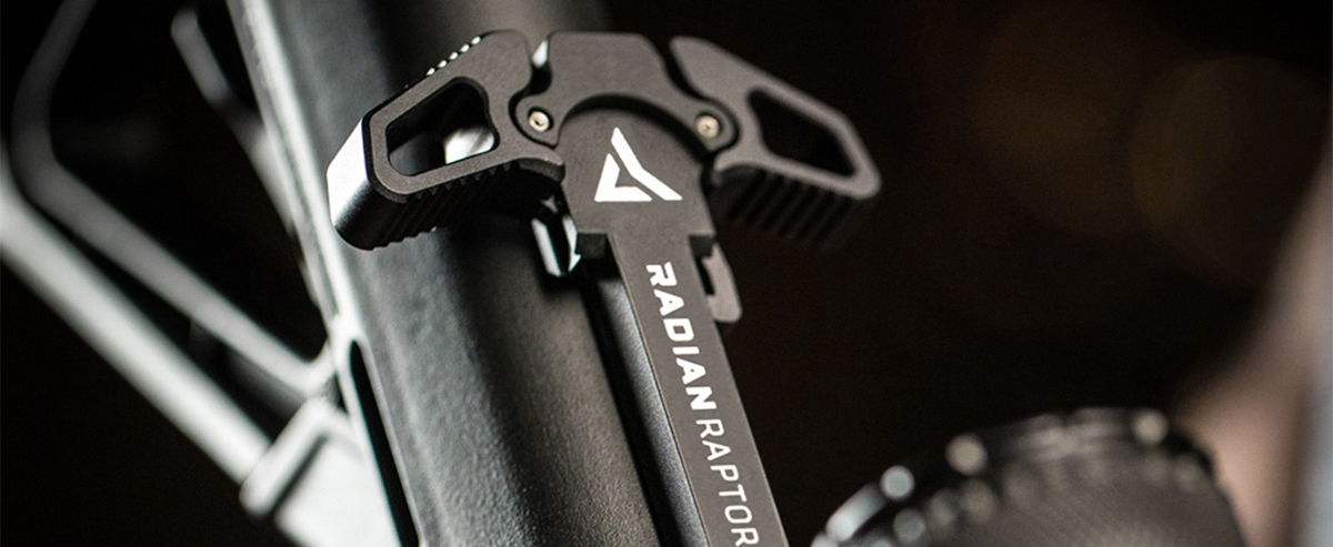 RAPTOR AMBIDEXTROUS CHARGING HANDLE