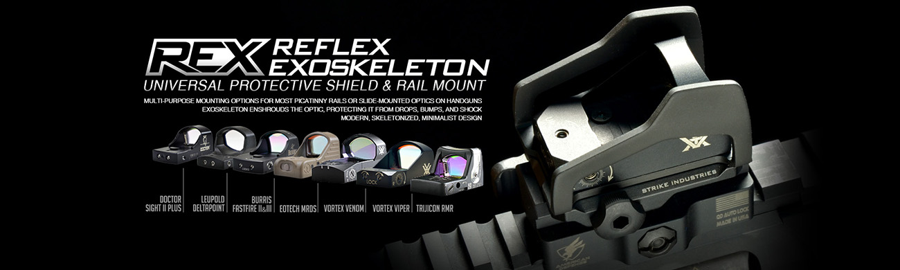 Strike Industries Reflex Exoskeleton Compatibility