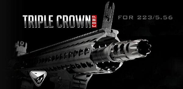 Strike Industries Triple Crown Compensator